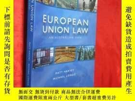 二手書博民逛書店European罕見Union Law 【詳見圖】Y5460 I