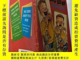二手書博民逛書店the罕見good news bad news joke book:好消息壞消息笑話書Y200392