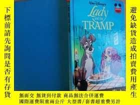 二手書博民逛書店女人和流浪漢LADY罕見AND THE TRAMP【實物拍圖 自
