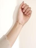 手鍊JG戒指手鍊女純銀小眾設計氣質生日禮物送女友手飾森系潮春季特賣