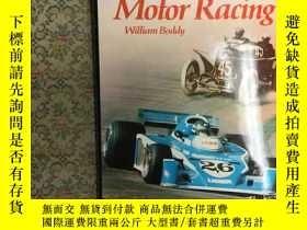 二手書博民逛書店A罕見HISTORY OF MOTOR RACING賽車史,19