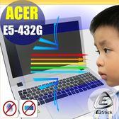 【Ezstick抗藍光】ACER Aspire E14 E5-432 G 防藍光護眼螢幕貼 靜電吸附(可選鏡面或霧面)