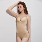 塑身衣女 產後保養美體衣 連體收腹托胸美體內衣產後瘦身內衣束腹褲收腹褲《小師妹》yf2238
