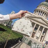 韓版時尚小包包女2018新款潮手提單肩包個性復古斜挎包百搭貝殼包 魔方數碼館