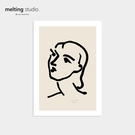 裝飾畫 藝術 掛畫 【G0112】Henri Matisse 藝術裝飾畫-納迪亞(A3) 韓國製 完美主義