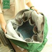 短途折疊包便攜旅行袋防水行李包可套拉桿多功能大容量登機收納袋 【PINKQ】