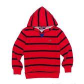 『小鱷魚童裝』條紋連帽T恤(08號~18號)338408