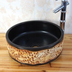 景德鎮陶瓷藝術台盆面盆