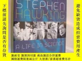 二手書博民逛書店STEPHEN罕見HAWKING:A LIFE IN SCIEN