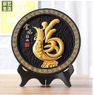 家居裝飾品活性炭雕雞年吉祥物擺件SQ2324『樂愛居家館』
