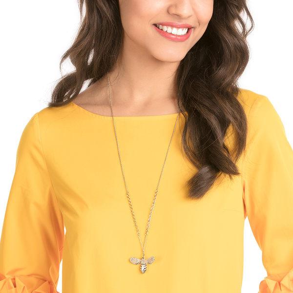 施華洛世奇  LISABEL 華麗耀眼鍍金色多色項鍊