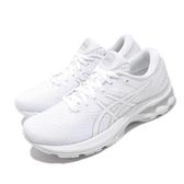 Asics 慢跑鞋 Gel-Kayano 27 白 銀 女鞋 輕量透氣 運動鞋 【ACS】 1012A649101