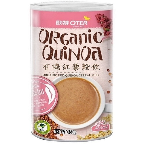 (買1送1) 歐特 有機紅藜穀飲 450g/罐 限時特惠