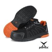 PAMAX 帕瑪斯【運動風】超透氣高抓地力止滑安全鞋、夜間反光-PS66625FEH-男生尺寸6-12