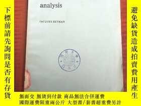 二手書博民逛書店elements罕見of stress analyse(P3191)Y173412