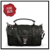 PS1MEDIUMC1銀釦山羊皮革兩用包(黑色)H00002全新商品