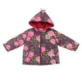 【愛的世界】防風鋪棉牡丹花長袖連帽外套/1~3歲-台灣製- ★秋冬外套 保暖推薦