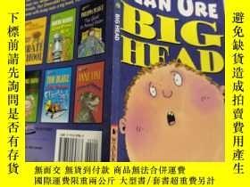 二手書博民逛書店big罕見nate the boy with the biggest head in the world 大內特,