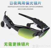 智慧眼鏡 藍芽眼鏡耳機智慧偏光多功能通話耳塞式聽歌打電話無線夜視太陽鏡 99免運