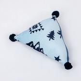 探險森林三角蓋毯靠枕組-藍-生活工場
