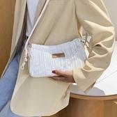 今年流行的包包2020新款潮網紅時尚腋下包百搭布包高級感洋氣女包 智慧3c