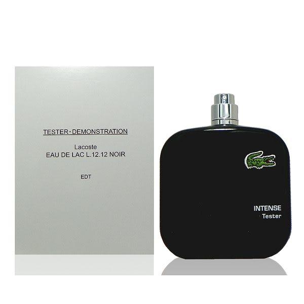 Lacoste 黑色 Polo 衫 ─ 男性淡香水 100ml Tester 包裝