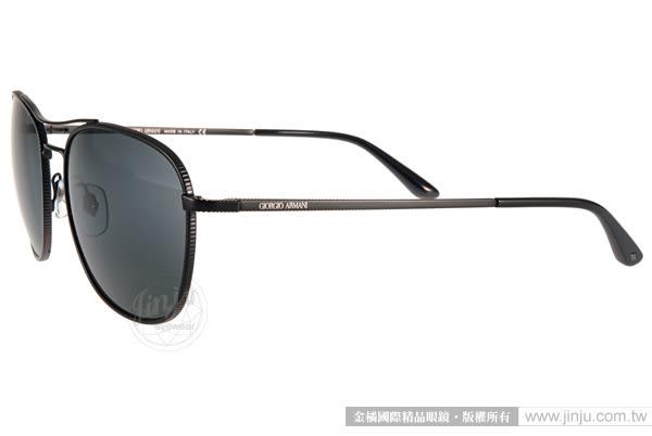 GIORGIO ARMANI 太陽眼鏡 GA6021 300187 (黑) 率性男仕經典款 # 金橘眼鏡