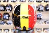 [中壢安信]ASIA A-706 A706 三色帽(黑黃紅) 安全帽 內襯全可拆洗