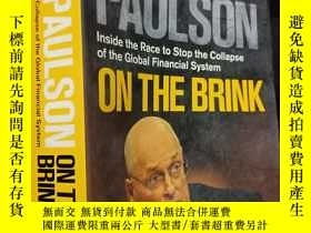 二手書博民逛書店英文原版罕見On the Brink: Inside the R