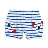 WHY AND 1/2 mini 條紋棉質萊卡短褲 1Y~4Y