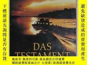 二手書博民逛書店德語原版罕見Das Testament von John Gri