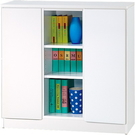 【藝匠】3尺雙密門鏡面PU書櫃 收納櫃 書櫃 書房 家具 置物櫃 櫃子 收藏 組合櫃 (白)