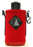 Outdoor Active OA山貓 1000CC水壺套(大) 紅 P-1000 附背帶 配件 水壺袋 適用Nalgene水壺【易遨遊】