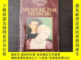 二手書博民逛書店Measure罕見For MeasureY24 Shakespe