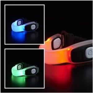 GENTOS全都亮 充電式夜跑放閃LED燈AX-100變色龍