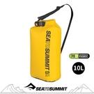 【Sea to Summit 澳洲 70D 可揹負式輕量防水收納袋10L《黃》】ASBAG10LYW/防水袋