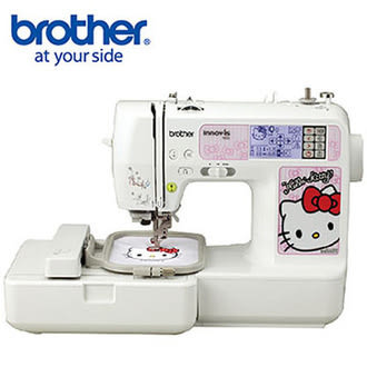 【日本brother】NV980K Hello Kitty電腦刺繡縫紉機