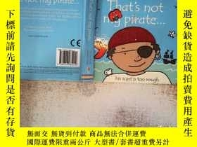 二手書博民逛書店That s罕見not My Pirate (Board)Y19