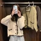 針織外套 毛衣女裝外套春秋季冬新款設計感小眾日系溫柔慵懶風針織開衫