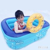 游泳池家用浴缸兒童嬰兒保溫塑料充氣泳池新生兒 JH1245『俏美人大尺碼』
