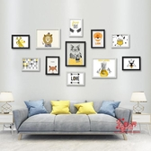 照片牆 多框簡約歐式創意組合照片牆客廳臥室相片牆相框牆掛牆T 20色