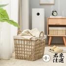 小號髒衣籃家用浴室收納籃收納筐草編洗衣籃玩具筐【君來佳選】