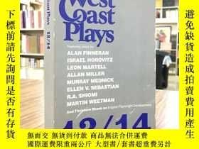 二手書博民逛書店West罕見Coast Plays 13 14(西海岸播放13 14)Y163 如圖 如圖 出版1982