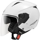 【東門城】ASTONE RST 素色(白) 半罩式安全帽 雙鏡片