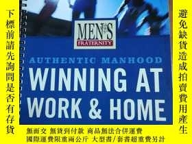 二手書博民逛書店Mens罕見Fraternity Winning at Work
