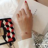 【Sayaka紗彌佳】925純銀  A heart of JAPAN正中紅心單鑽項鍊/手鍊 -手鍊款