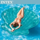 INTEX 美人魚貝殼浮排-杯架設計(5...