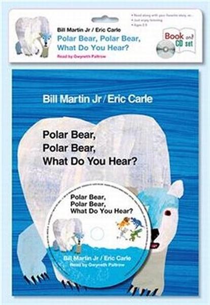 (二手書)Polar Bear, Polar Bear, What Do You Hear? (Book + CD)