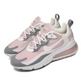 Nike 休閒鞋 Wmns Air Max 270 React 粉紅 米白 灰 女鞋 運動鞋 【PUMP306】 CI3899-500