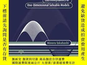二手書博民逛書店Thermodynamics罕見Of One-dimensional Solvable ModelsY2555